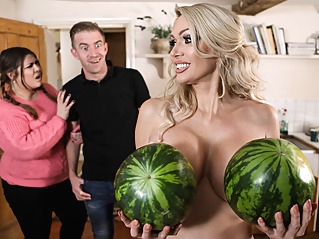 big tits blonde british at vPorn